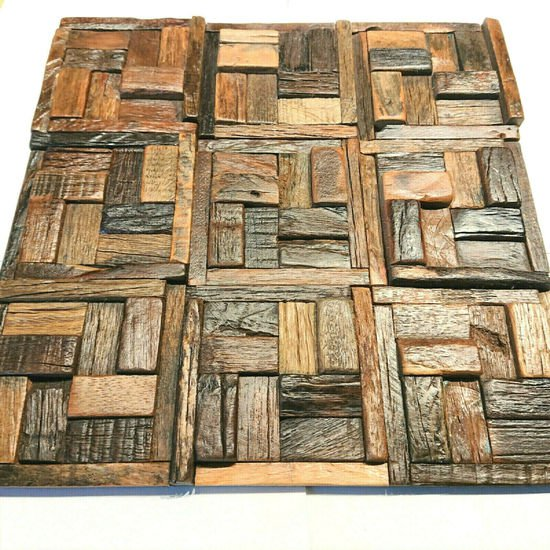 Wooden tiles  reclaimed  wood tile  wall covering  wall tiles  wood mosaic wood mosaic ltd treniq 8 1588182396262