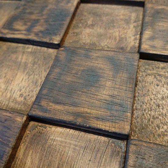 Reclaimed wood wall tiles  wall covering  wood mosaic wood mosaic ltd treniq 7 1588182833425