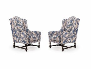 The-'quirky-Animal'-Velvet-Antique-French-Farmhouse-Chairs._Rhubarb-Chairs_Treniq_0