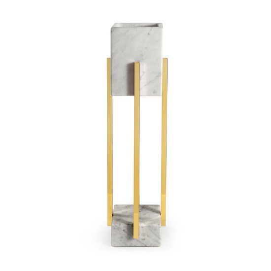 Looshaus table lamp carrara marble insidherland treniq 1 1592497928189