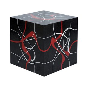 Dune End Table Black - Farrago - Treniq