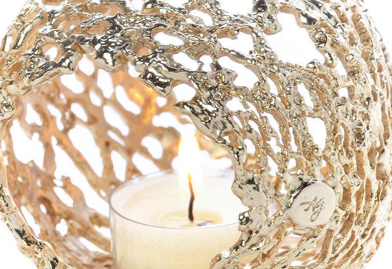 Transparencies bubble light candle holder al gala lux treniq 3