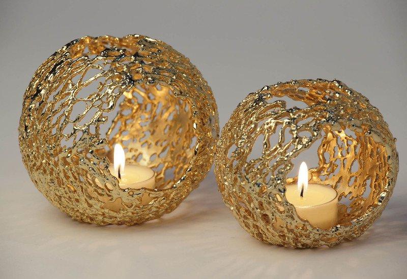 Transparencies bubble light candle holder al gala lux treniq 6