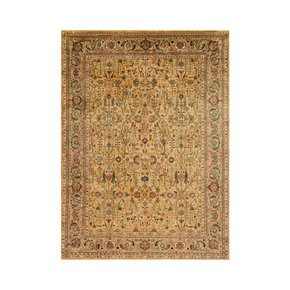 Golden Age Brilliance Sage Rug - Samad Rugs - Treniq