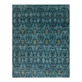 Vogue Adorable Turquoise Rug - Samad Rugs - Treniq