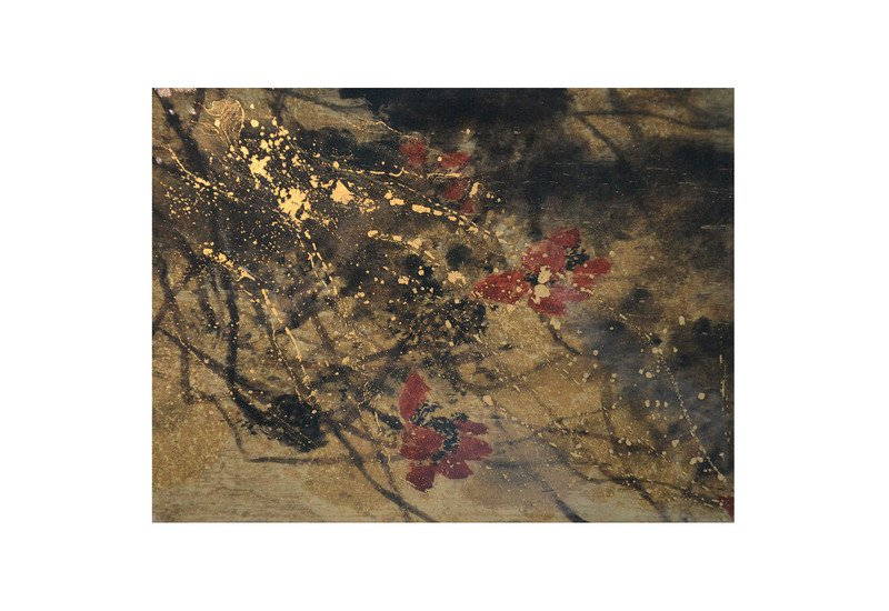 Gold floret panel studio 198 treniq 1