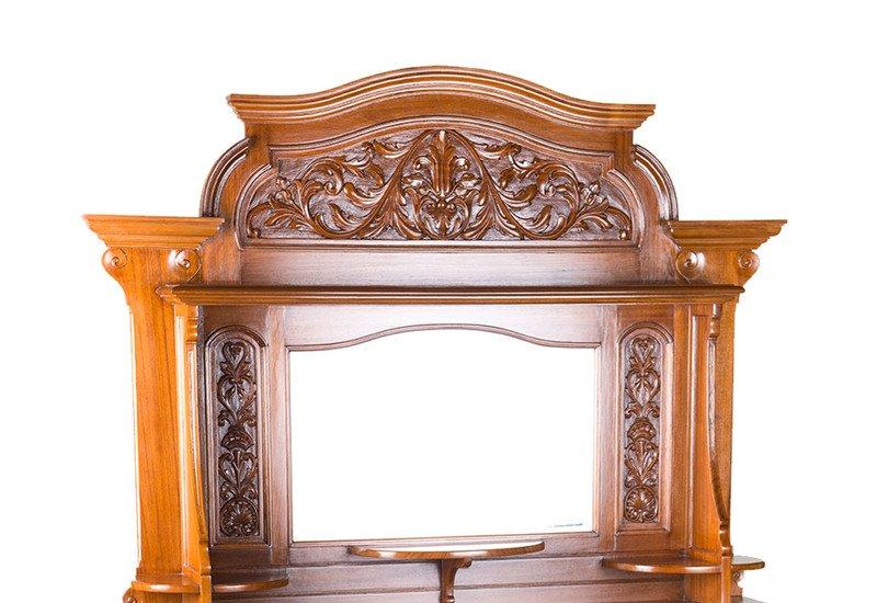 Carved old wedding chair anemos treniq 2