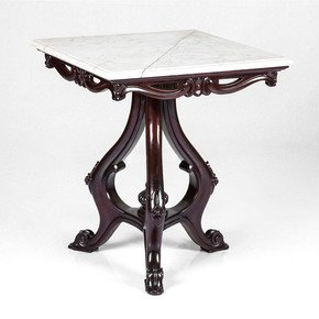 Mahogany-And-Italian-Marble-Side-Table_Anemos_Treniq_0