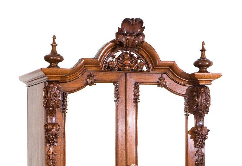 Teak wood cabinet ii anemos treniq 2