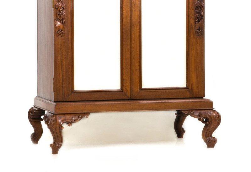 Teak wood cabinet ii anemos treniq 3