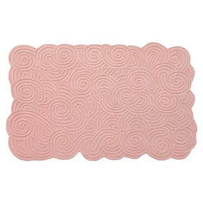 Bloom Rectangular Rug - Scarlet Splendour - Treniq