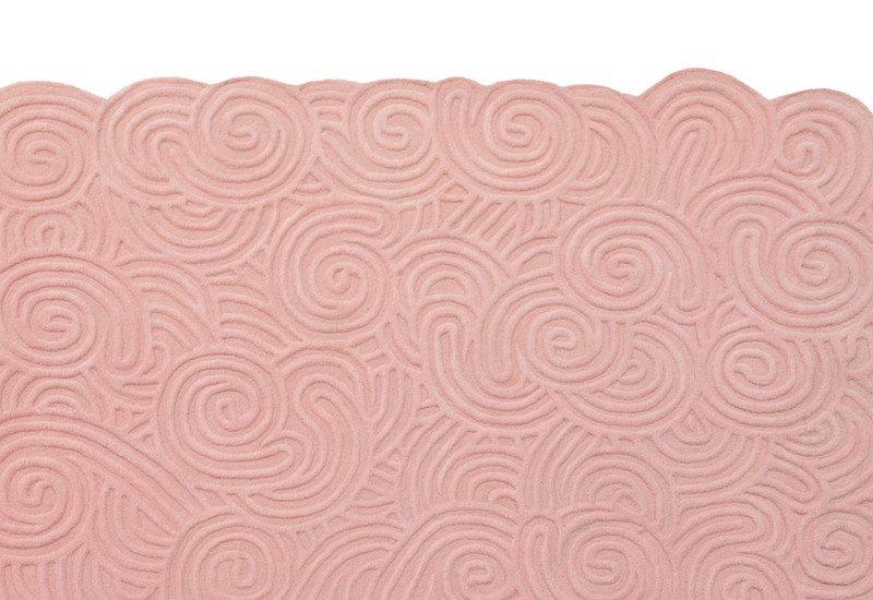 Bloom rectangular rug scarlet splendour treniq 3