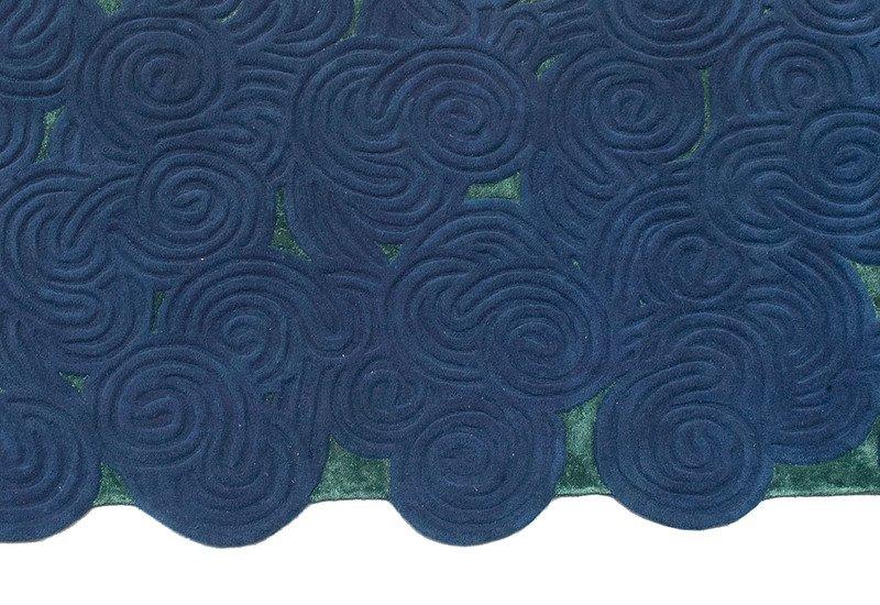 River moss rectangular rug scarlet splendour treniq 3
