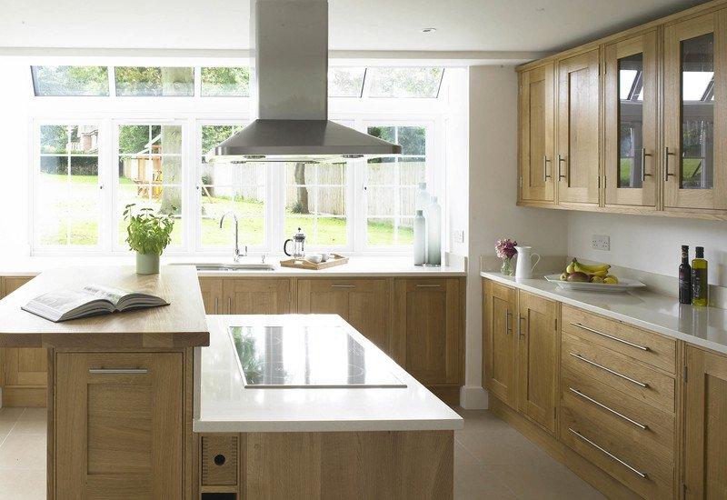 Modern oak kitchen rencraft treniq 1