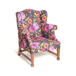 Daisy Floral Squash Armchair - Limon Design - Treniq