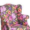 Daisy floral squash armchair limon design treniq 3