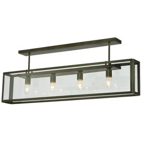 Affinity Contemporary Semi Flushmount Lamp - Smashing - Treniq