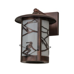 Fulton Alpine Solid Mount Outdoor Wall Lamp - Smashing - Treniq