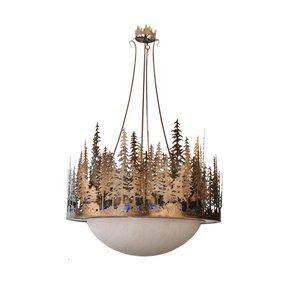 Rustic Lodge Inverted Pendant Lamp I - Smashing - Treniq