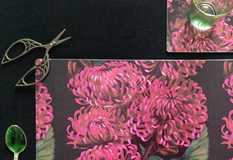 Chrysanths nuit tableware lux   bloom treniq 2