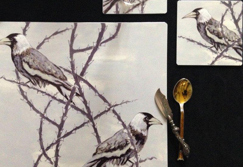 Crow patrol metal tableware lux   bloom treniq 3