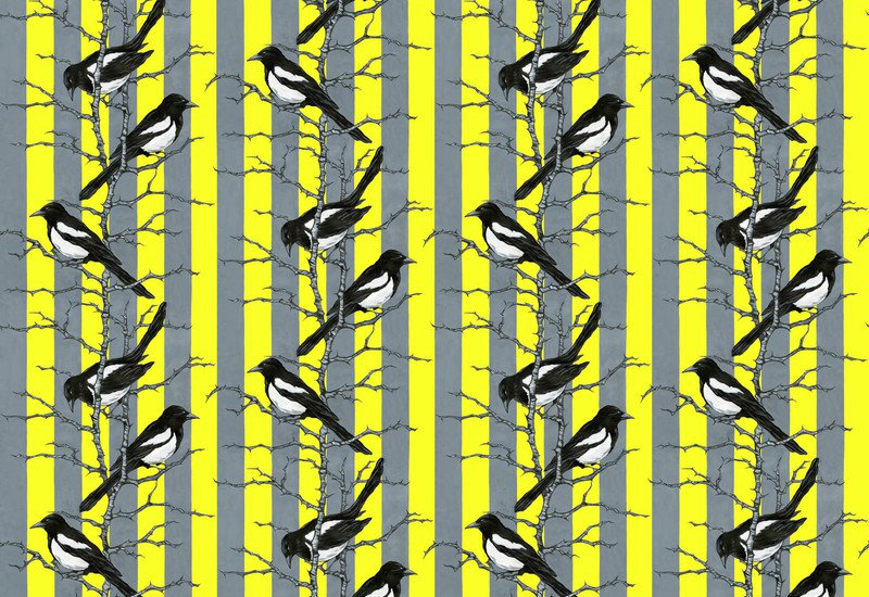 Mr magpie wallpaper lux   bloom treniq 1
