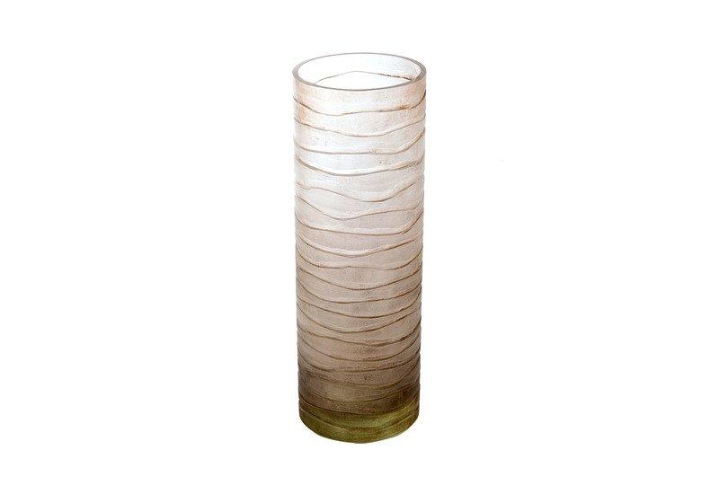 Transparent cylindrical vase inventrik enterprise treniq 1