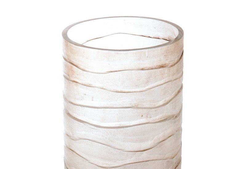 Transparent cylindrical vase inventrik enterprise treniq 3