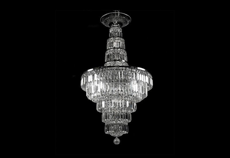 All round chandelier waterford made chandeliers treniq 1