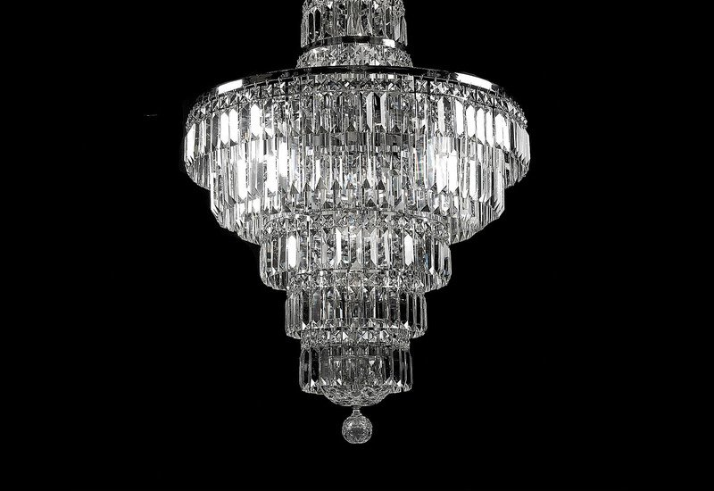 All round chandelier waterford made chandeliers treniq 2