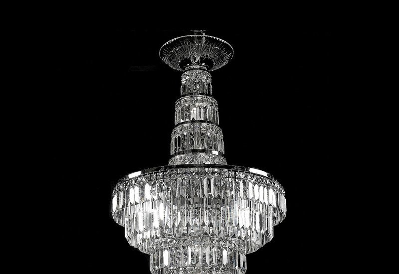 All round chandelier waterford made chandeliers treniq 3