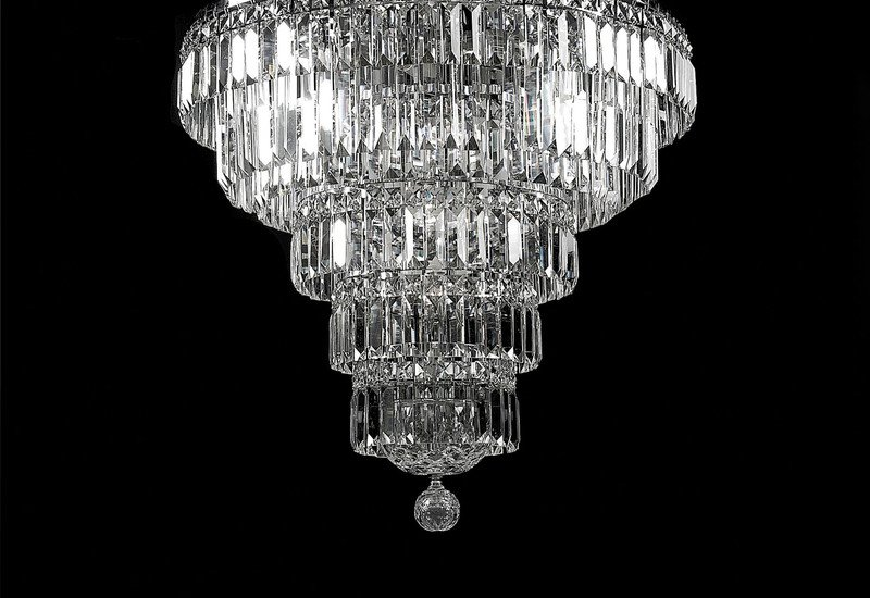 All round chandelier waterford made chandeliers treniq 4