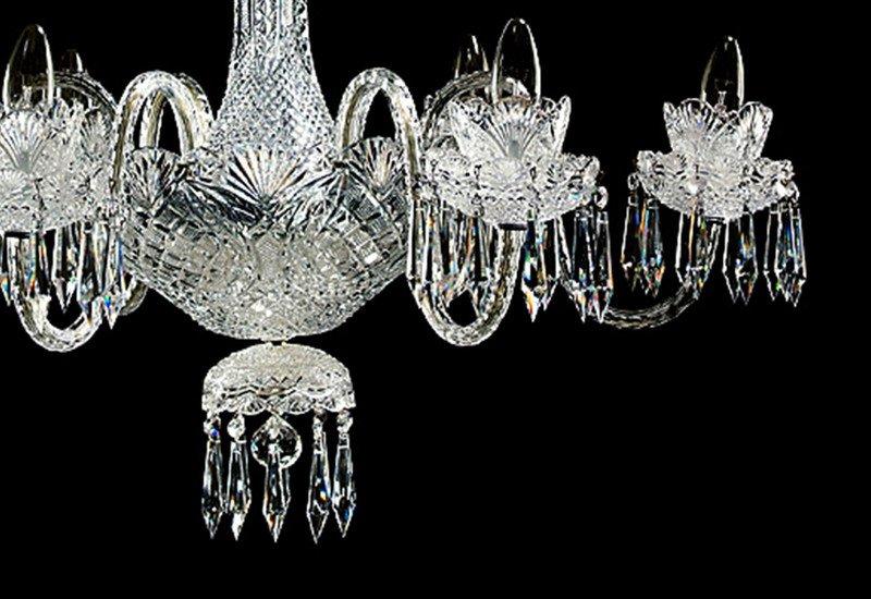 Eloise 6 arm single tier chandelier waterford made chandeliers treniq 2