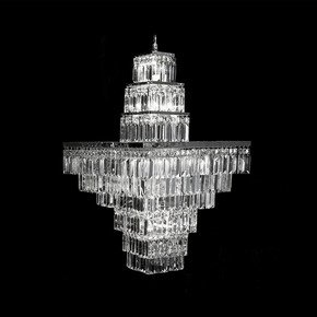 Lorcan square Chandelier 2 - Waterford Made Chandeliers - Treniq