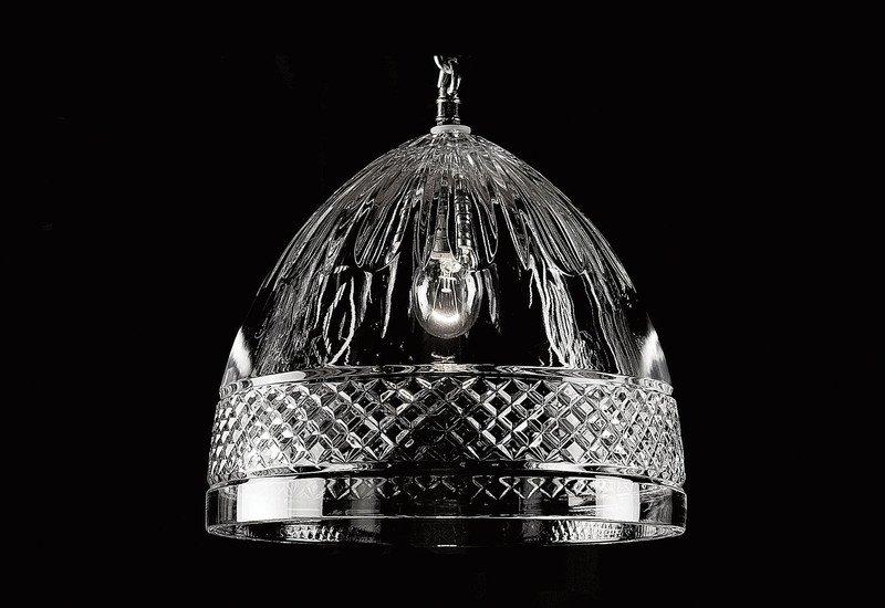 Single bulb pendant lamp waterford made chandeliers treniq 1