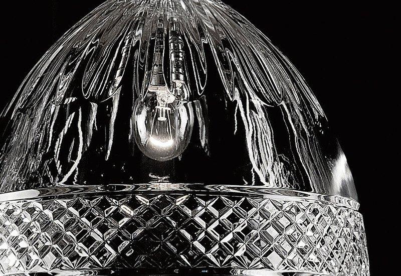 Single bulb pendant lamp waterford made chandeliers treniq 4