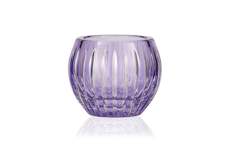 Gurasu shining star lavender crystal tealight candle holder gurasu treniq 1