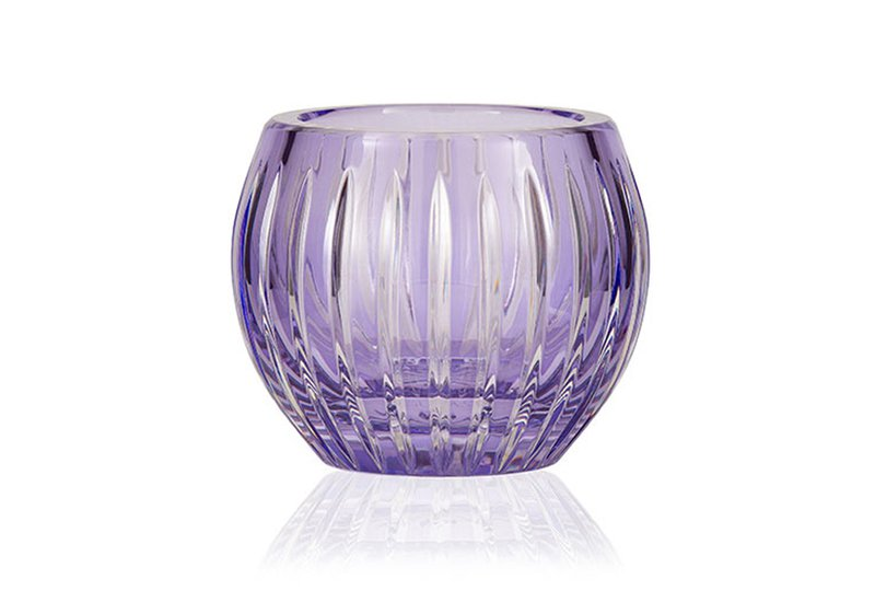 Gurasu shining star lavender crystal tealight candle holder gurasu treniq 2