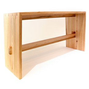 Bookmatched Bench - Slow Wood - Treniq