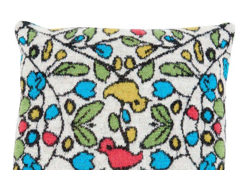 Moineaux cushion loup maison treniq 2