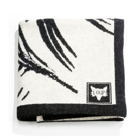 Plaid Zebra Throw - Loup Maison - Treniq