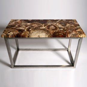 Fossil Wood Table - Hurley - Treniq