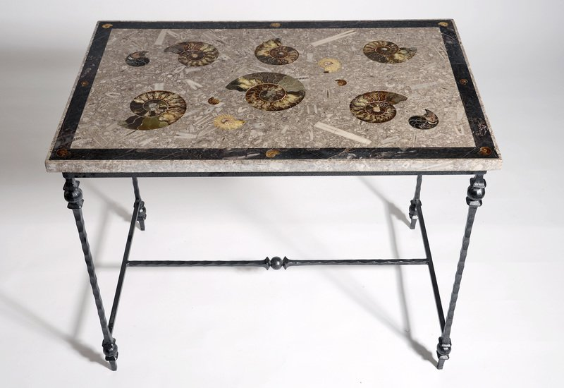 Large ammonite table hurley treniq 2