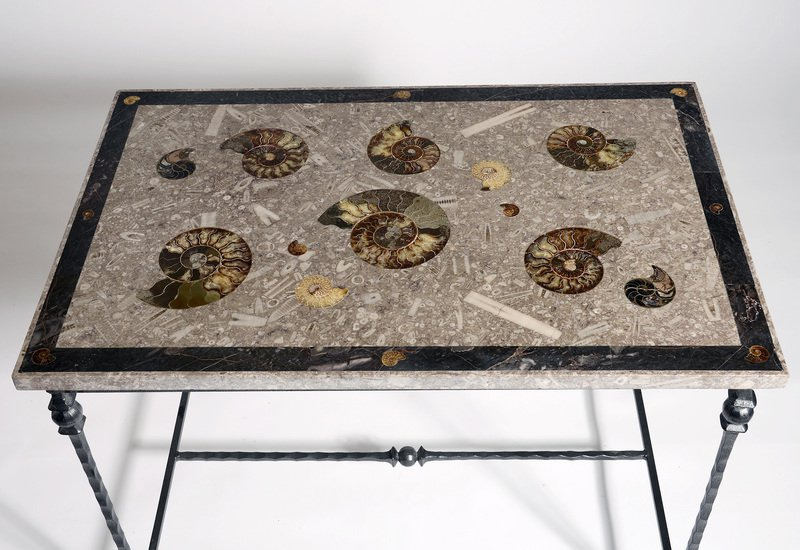 Large ammonite table hurley treniq 3