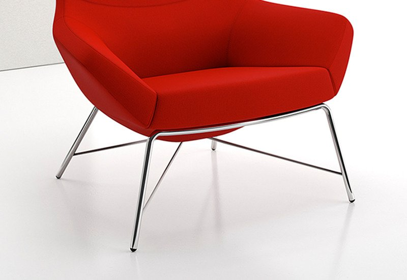 Bing high back luxe lounge tubular decca treniq 3