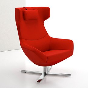 Bing Wing Back Lounge Chairs - Decca - Treniq