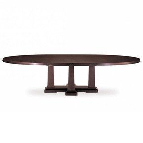 Domicile Pier Oval Dining Table - Decca - Treniq