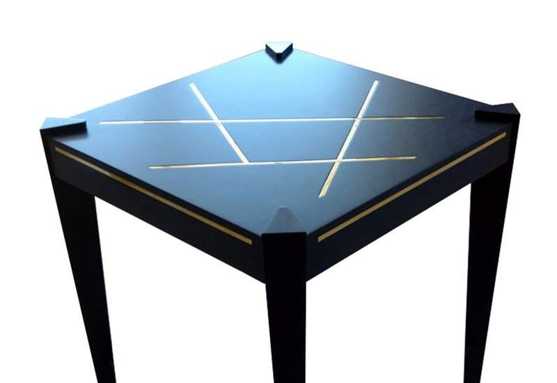 Callisto side table black and key treniq 2