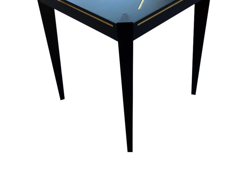 Callisto side table black and key treniq 3