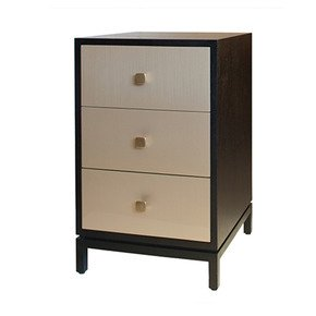 Wilson Bedside Cabinet - Black and Key - Treniq